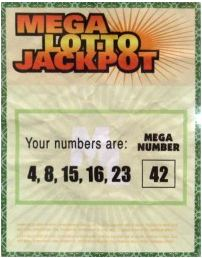 Lost lotto numbers