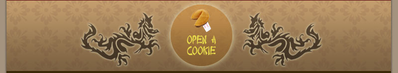 Open a cookie